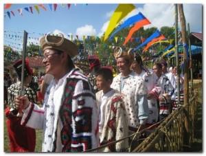 Rawang traditional dress